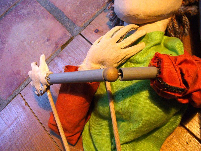 Les articulations la compagnie des skowi s spectacles de marionnettes fils ombres chinoises - Fabriquer une marionnette articulee ...