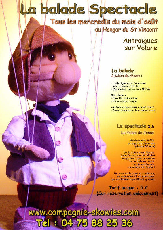 La balade spectacle 2012